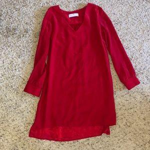 Amanda uprichard Revolve silk Shift dress